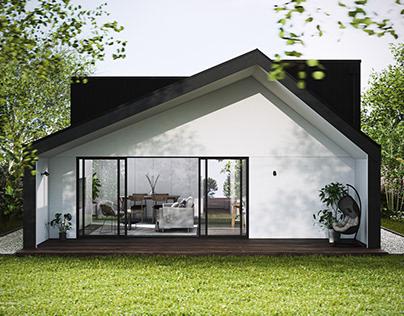 Modern House CGI