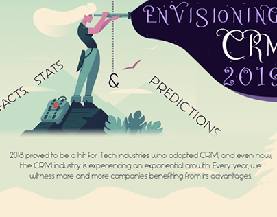 An infographic on envisioning Salesforce
