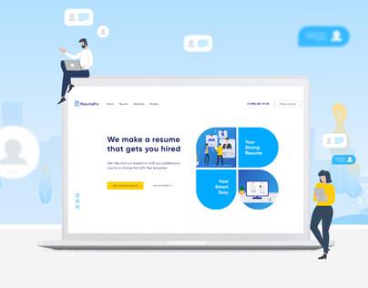 ResumePro - resume builder service