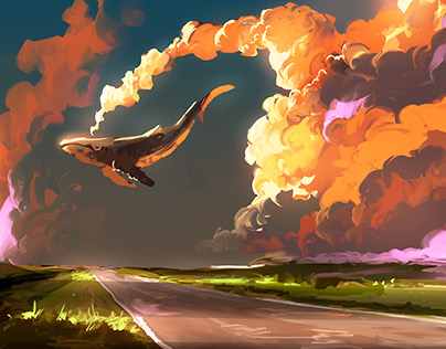 Cloud Machine - 30 min Speedpainting