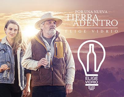 Elige Vidrio / Por una nueva Tierra Adentro