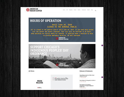 Website | American Indian Center (AIC)