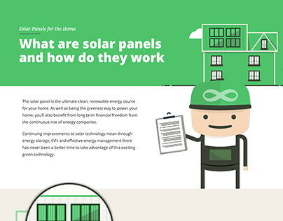 Designing a webpage to teach how solar panels work