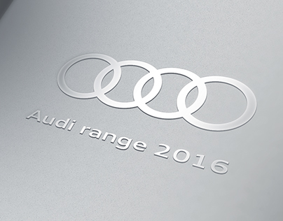 Audi range 2016