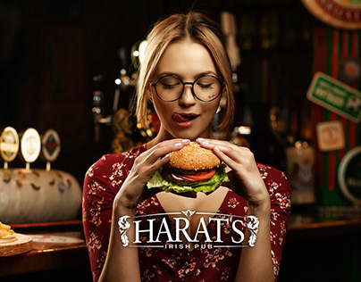 "Menu for pub ""Harats"" 