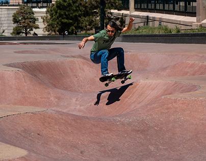 Skateboarding Action Photography