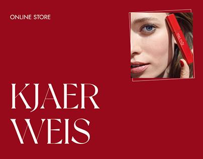Kjaer Weis — redesign website