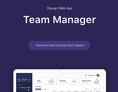 Team Manager Web App
