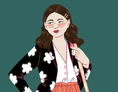 Digital Illustration - Skillshare Lesson