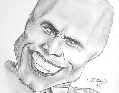 Pencil caricatures
