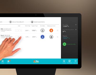 Koçtaş Click & Collect Omni Channel Touch-Desk