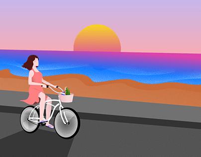 Senja dan Pulang ke Rumah | Go home, feel the twilight