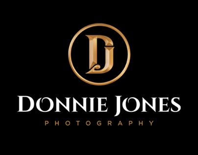 Donnie Jones Photography Logo, Branding & Website