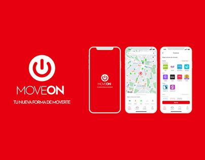 MoveON app, tu nueva forma de moverte