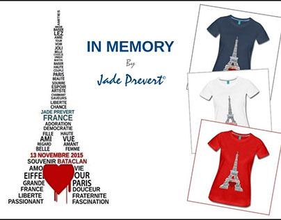 T-Shirt In Memory - Bataclan