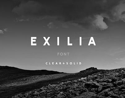 Exilia Font