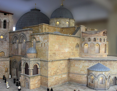 Church Of The Holy Sepulchre (model)