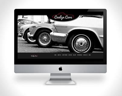 Caelyn Cars - website