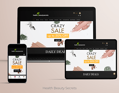 Health & Beauty Secrets Website