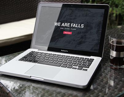 FALLS Website Design