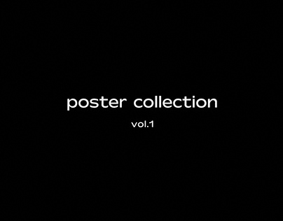 poster collection / vol.1