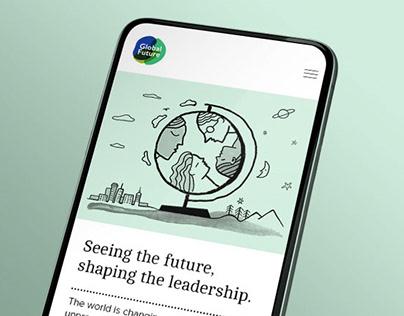 Global Future Partners – Website Design & Branding