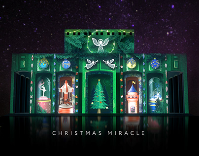 «Christmas Miracle» light and projection show