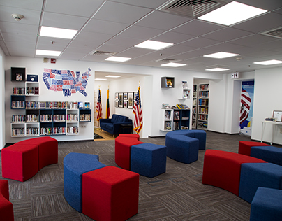 LIBRARY RENOVATION for US Embassy in Vilnius