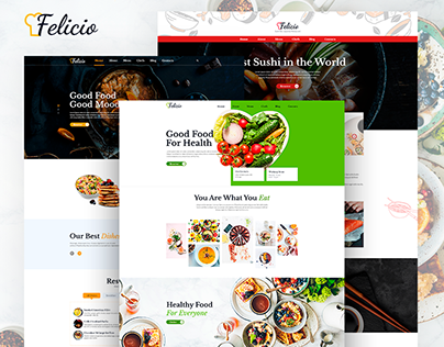 Felicio - Restaurant and Cafe Template