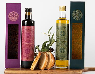 Olive Oil and Balsamic Vinegar Packaging