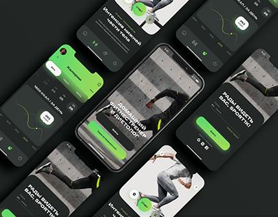 Fit +Diet — Mobile App