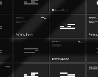 Reframe Studio – Visual identity