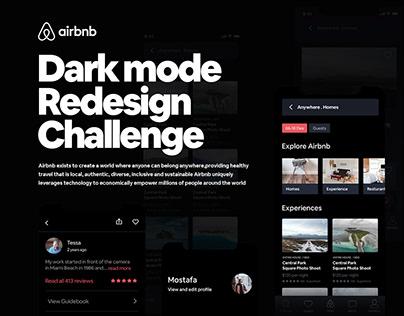 Airbnb Darkmode