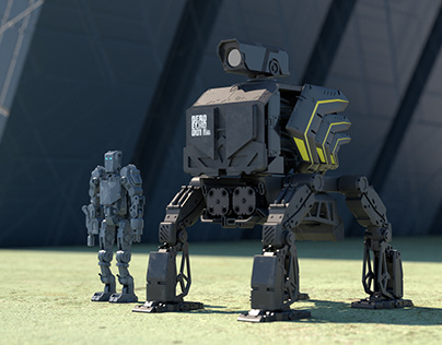 Daily Render (Robots)