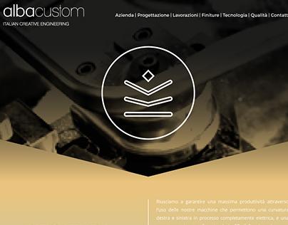 Alba Custom Website