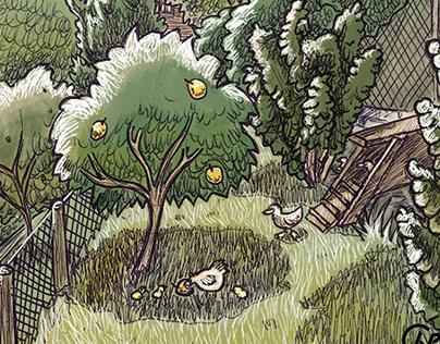 Permaculture Sketchbook #1