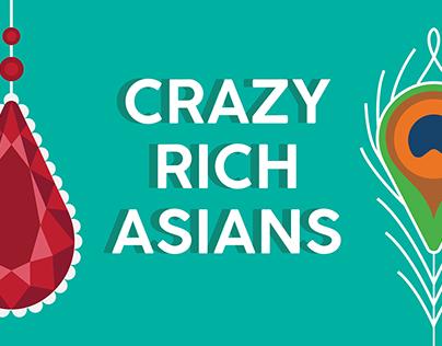 Crazy Rich Asians | Publicity Design