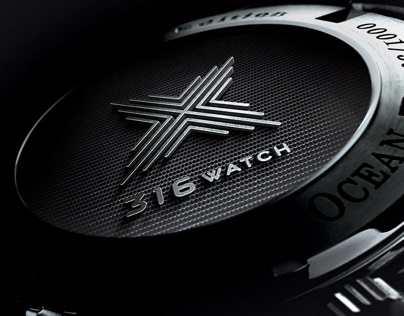 316.watch: watch store logo and identity
