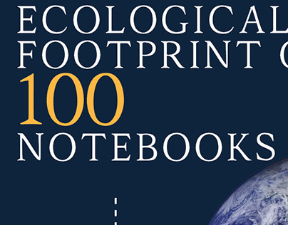 Infographic Story of 100 Notebooks