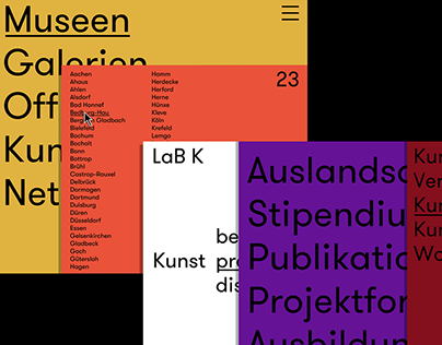 LaB K UI/UX Design + Branding