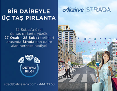 Akzirve Strada Bahçeşehir