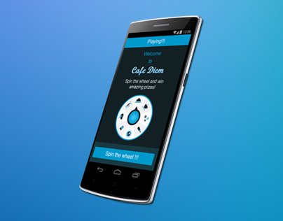 iPhone, Android mobile app UI