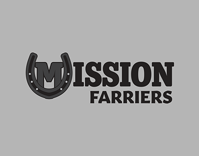Mission Farriers Logo Design
