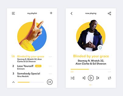 #09 Daily UI // Music Player