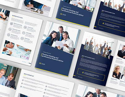 FinancBiz – Company Profile Bundle 3 in 1