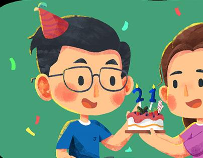 Personal Work_Birthday