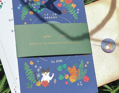 J&M Wedding Invitation
