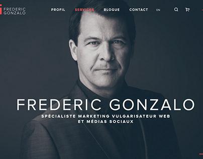 Site web e-commerce, Frederic Gonzalo, conférencier