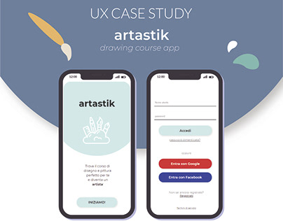 artastik   UX design case study   UI design