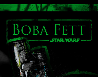 Boba Fett (Star Wars) Poster Design